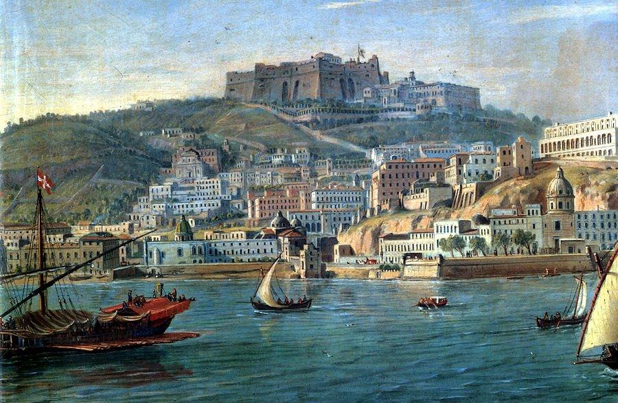 Napoli dal mare (Gaspard van Wittel)
