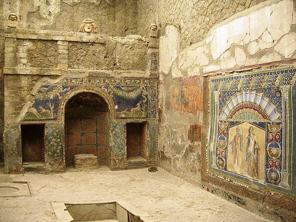 Scavi di Ercolano, Casa di Nettuno e Anfitrite