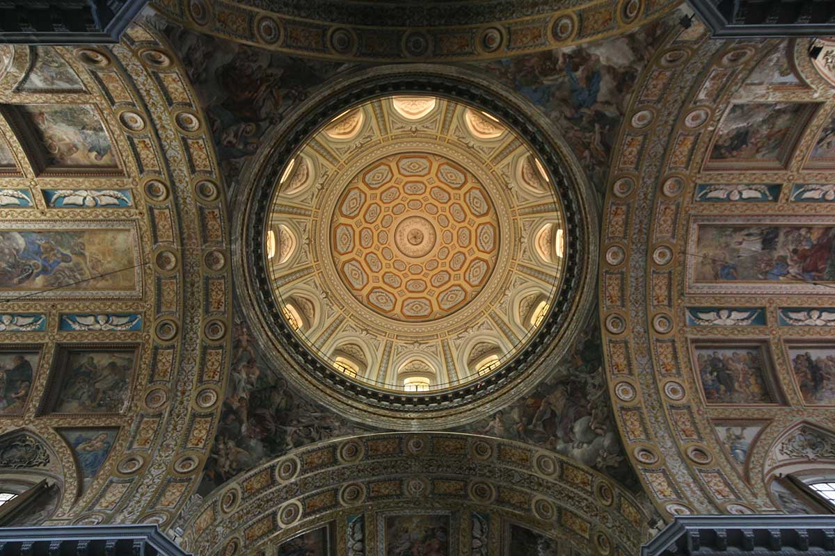 Gesù Nuovo Napoli Cupola