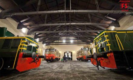 Museo di Pietrarsa, la ferrovia Napoli-Portici compie 179 anni