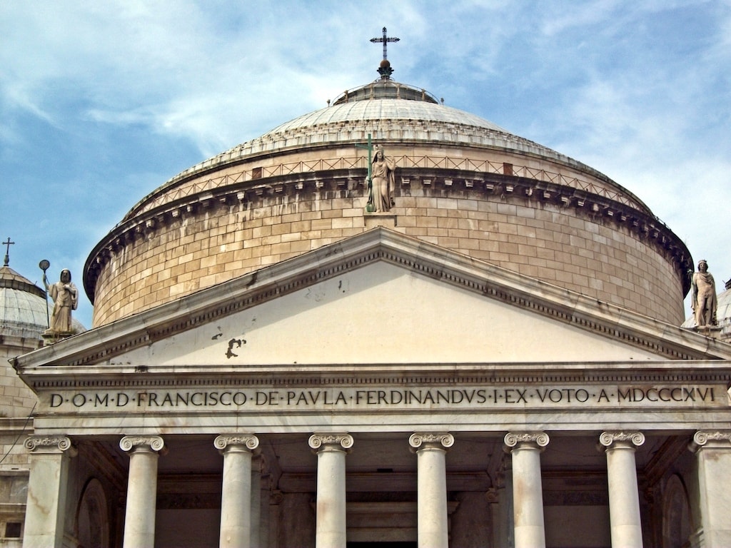 San Francesco di Paola Napoli Facciata