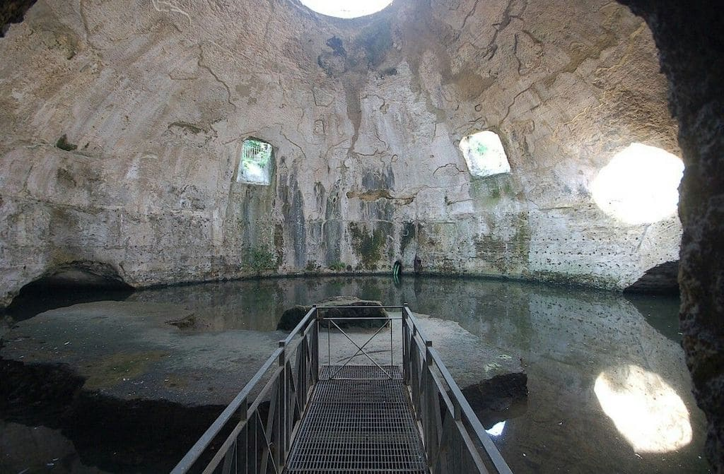 Terme romane di Baia Tempio di Mercurio
