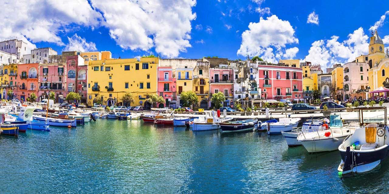 Procida, golfo di Napoli