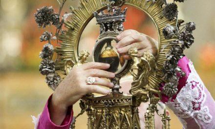 Il miracolo di San Gennaro, patrono di Napoli