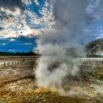 La Solfatara di Pozzuoli, vulcano attivo (Campi Flegrei)