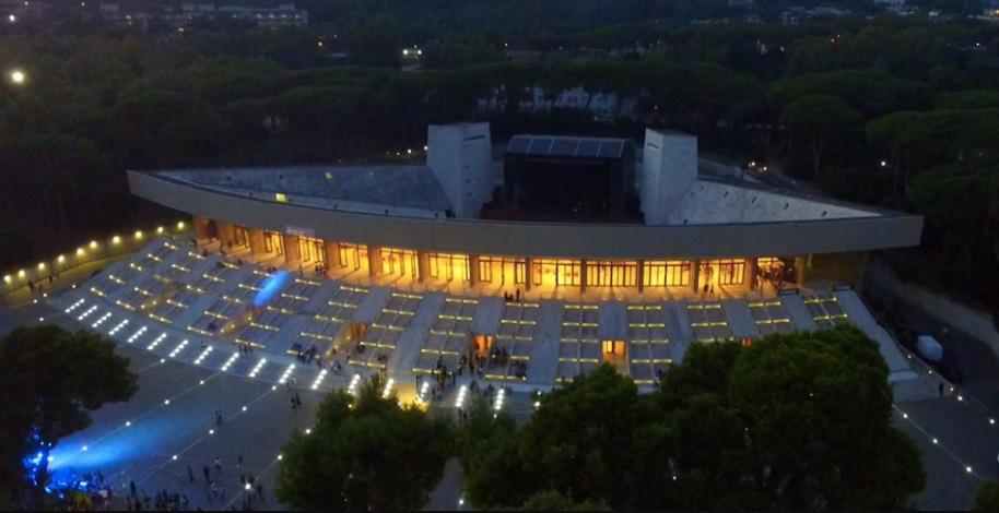 Arena Flegrea Napoli: Foto di notte