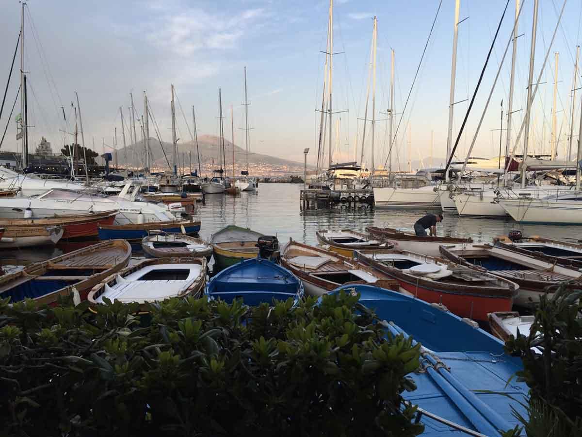 Il Borgo Marinari a Napoli