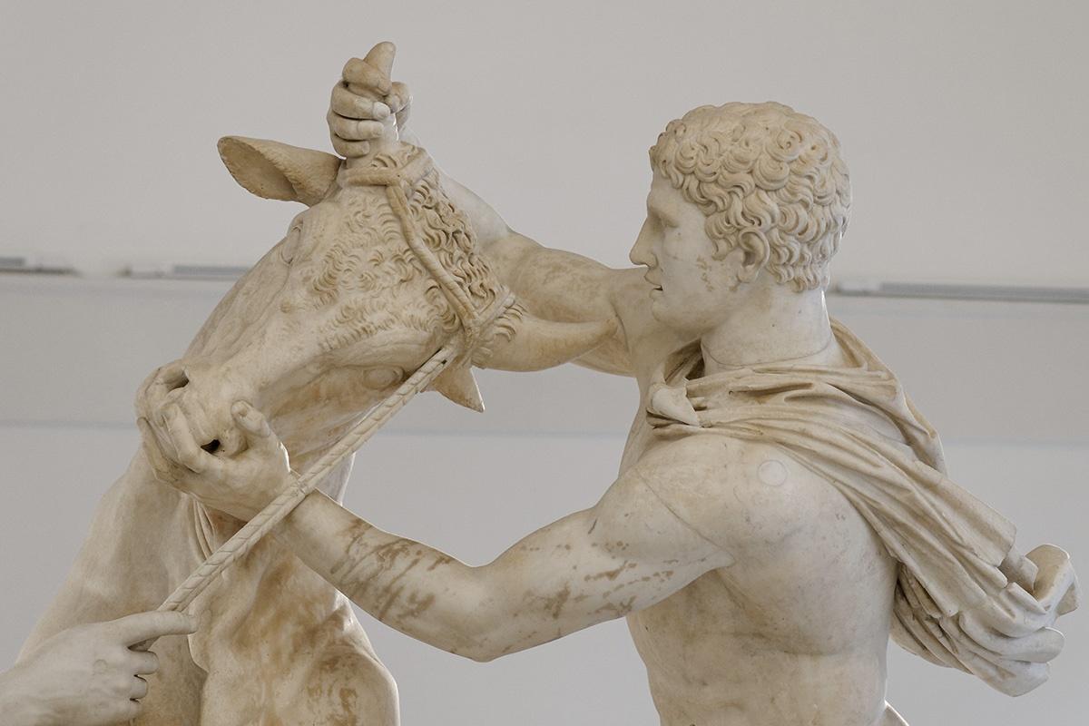 Muse al Museo Archeologico di Napoli