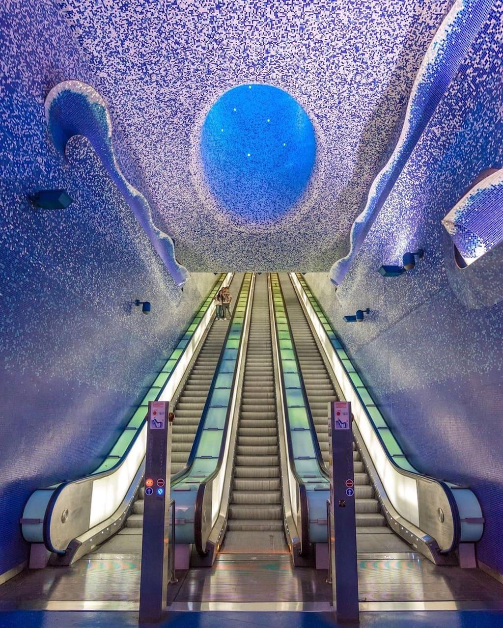 Metro dell'Arte Stazione Toledo