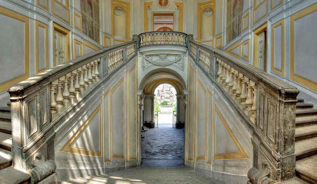 Visita guidata a Villa Campolieto, opera di Vanvitelli