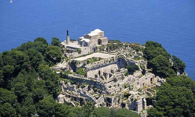 Villa Jovis di Capri, il leggendario palazzo degli imperatori romani