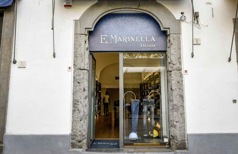 Marinella Denim, Via Calabritto Napoli