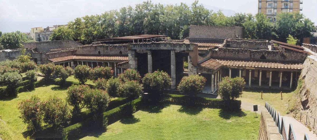 Scavi di Oplontis: le Ville romane di Poppea e Lucio Crasso