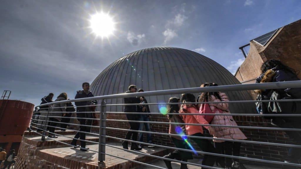 Planetario 3d Città della Scienza Napoli