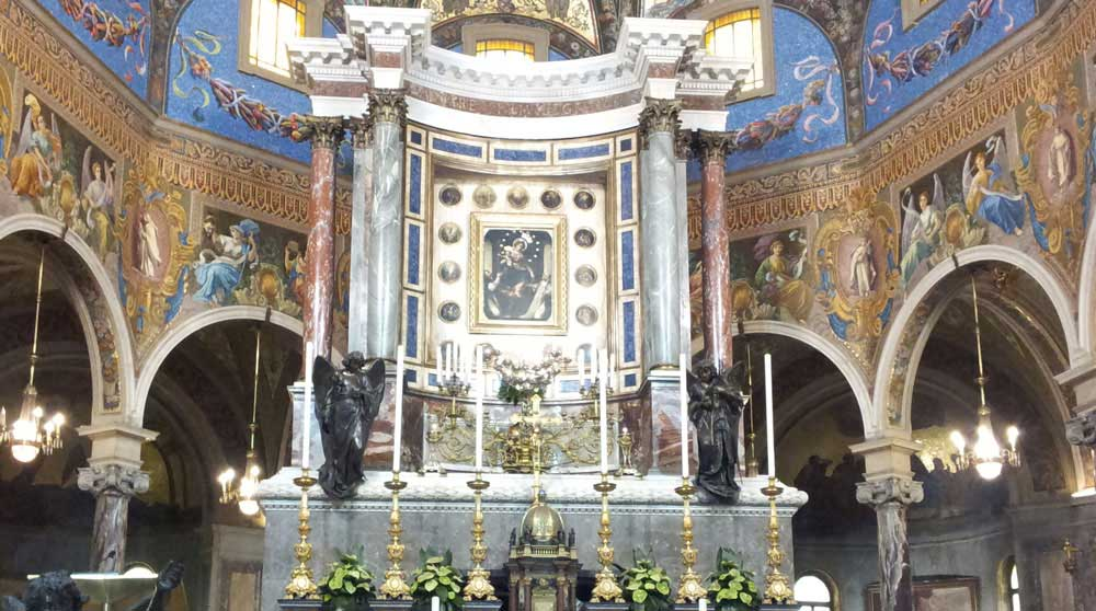 Santuario di Pompei - Madonna del Rosario
