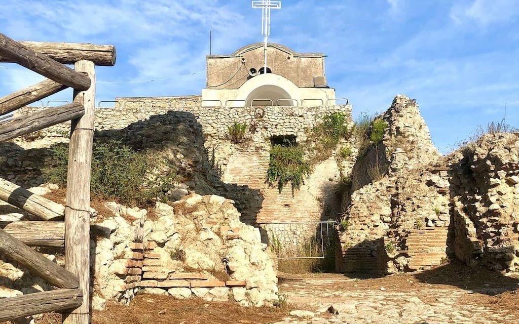 Villa Jovis di Capri, il palazzo degli imperatori romani