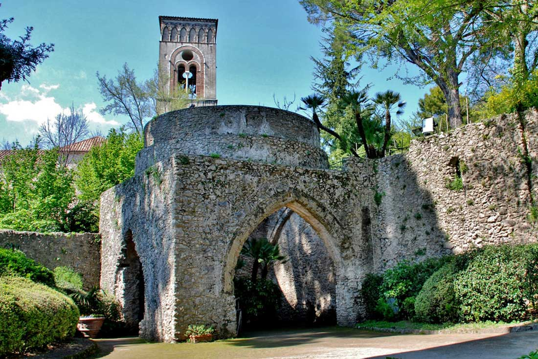Ravello Villa Rufolo Torre Maggiore