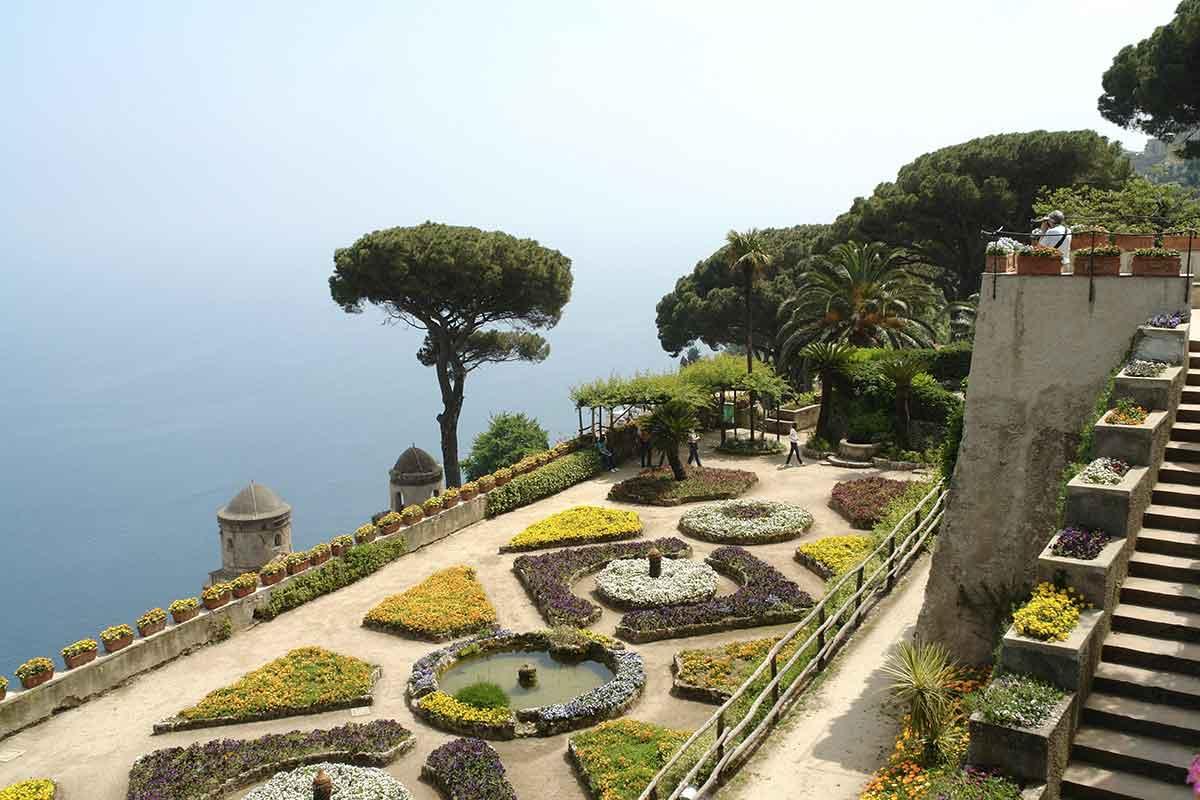 Villa Rufolo, giardini