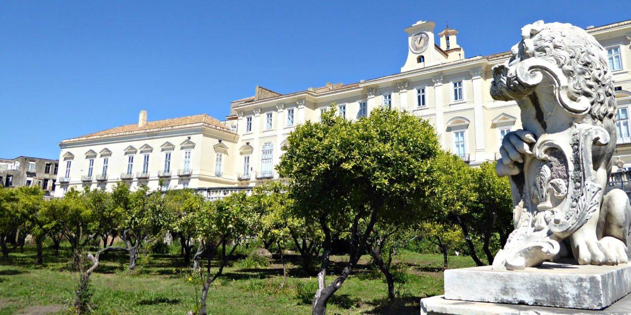 Reggia di Portici, residenza reale voluta da Carlo di Borbone