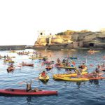Tour in kayak, insoliti scorci di Napoli