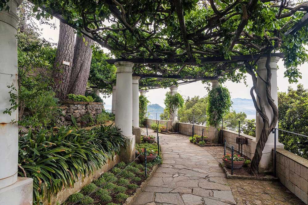 Turismo a Capri - Villa San Michele Giardino