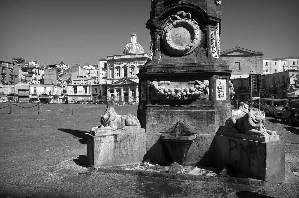 Piazza del Mercato Napoli