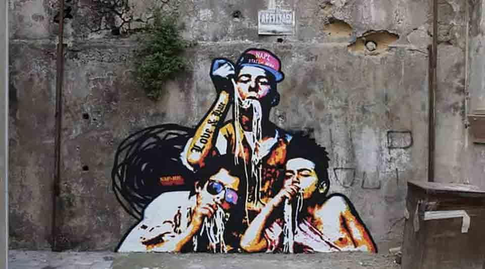 Quartieri Spagnoli Napoli Street art
