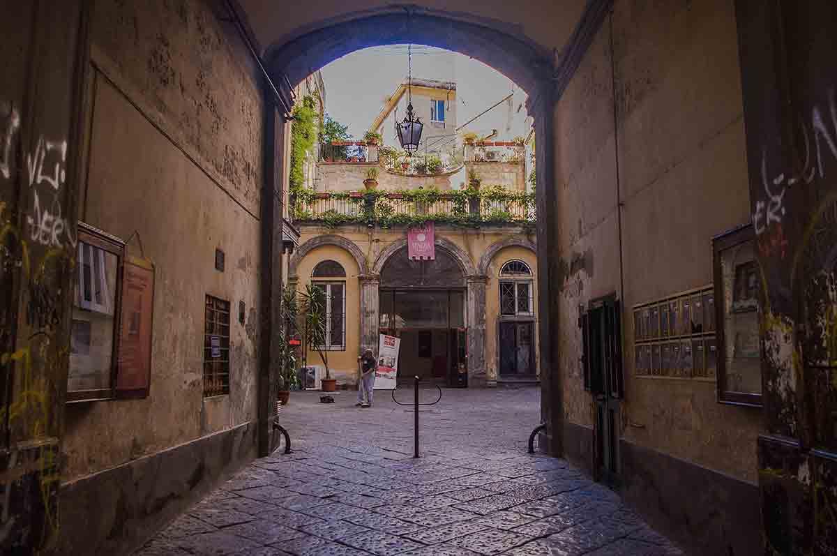 Antichi Palazzi di Napoli- - Palazzo Venezia