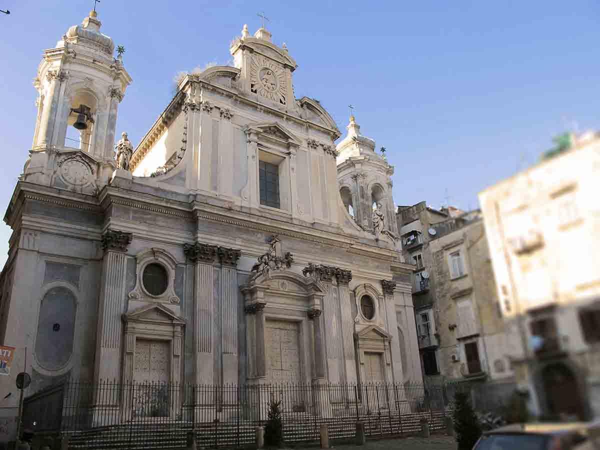 Chiesa dei Girolamini, esterno