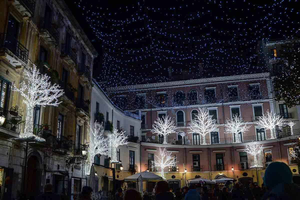 Luci d'Artista - Salerno piazza Portanova