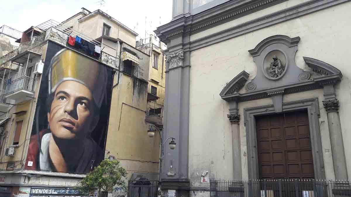 Forcella, Murales San Gennaro