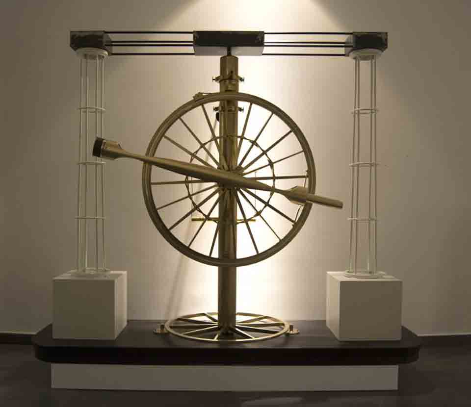 Circolo ripetitore - Antico telescopio Capodimonte