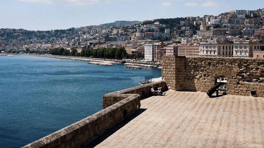 Panorama dalla terrazza del Castel dell Ovo