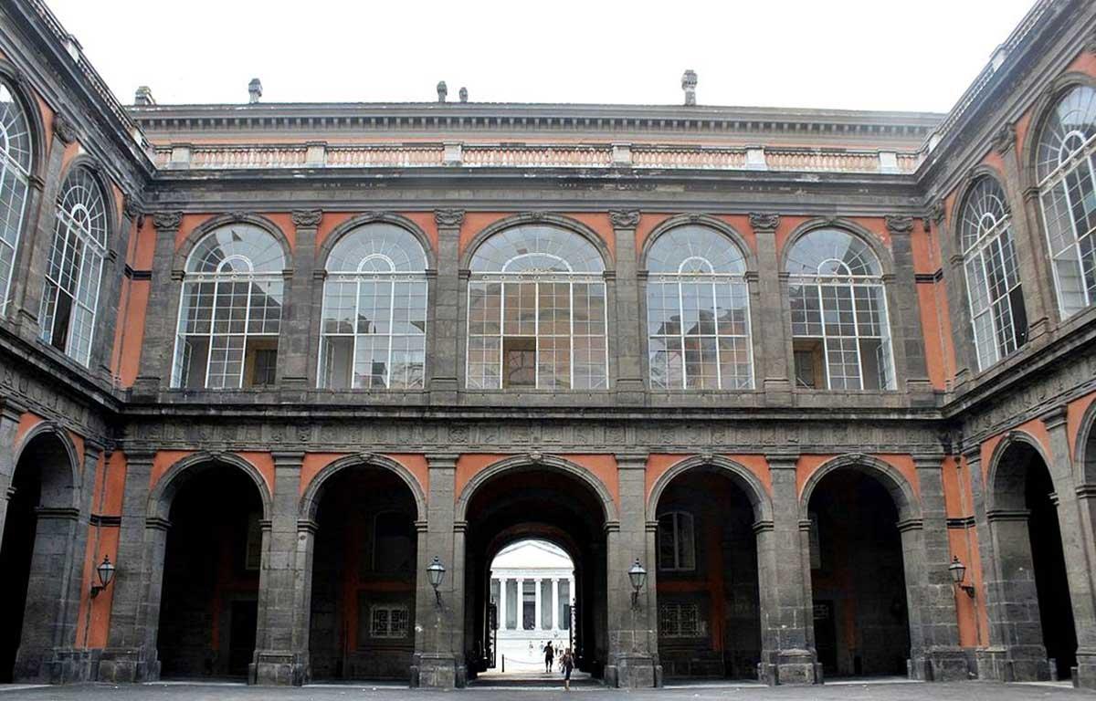 Palazzo Reale cortile Interno
