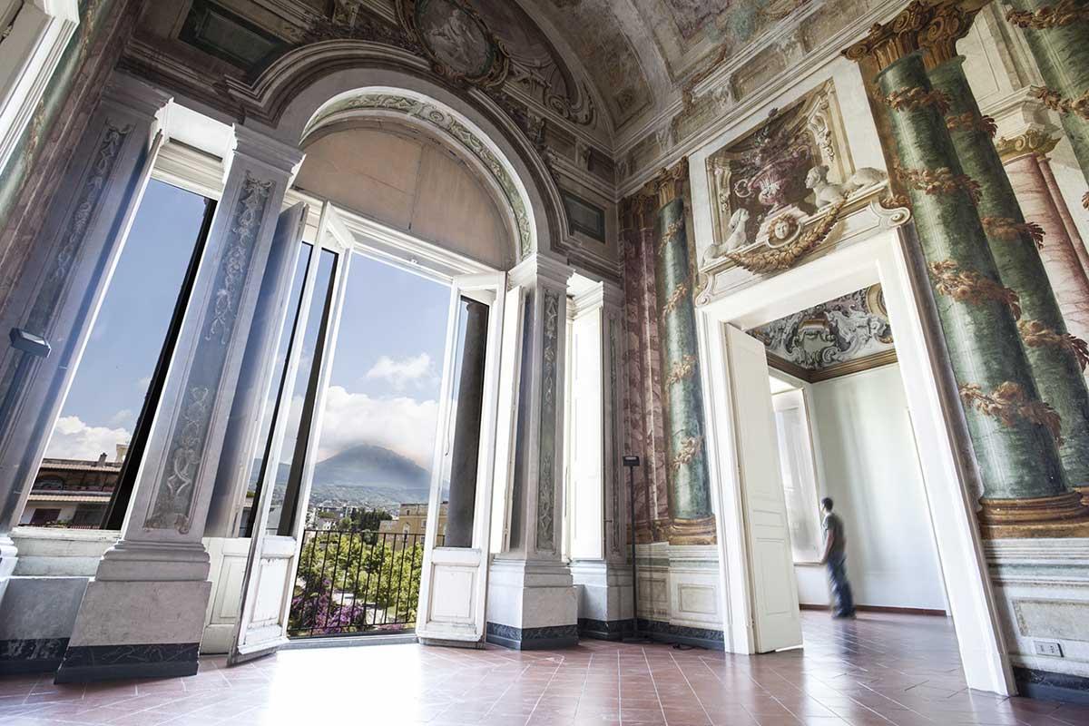 Villa Campolieto interno