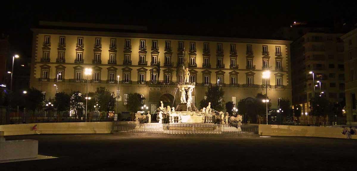 Napoli notte d'Arte 2017 - Piazza Municipio