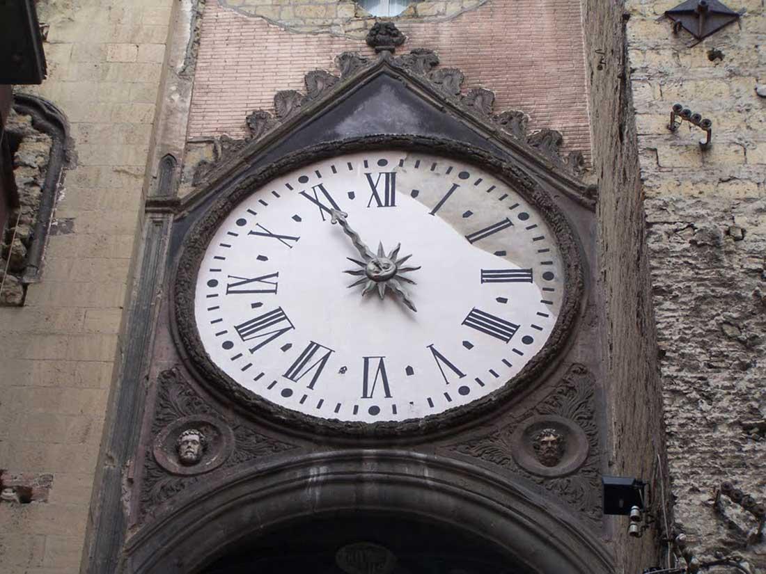 Orologio di Sant'Eligio Napoli
