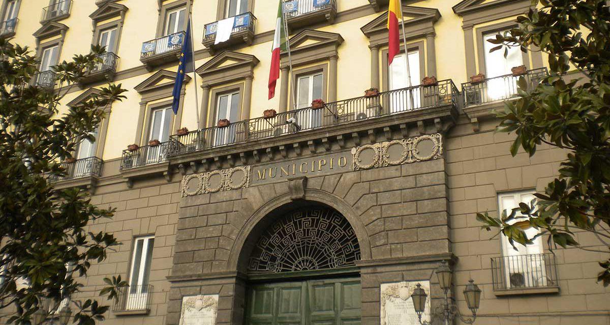 Palazzo San Giacomo, sede del Municipio di Napoli