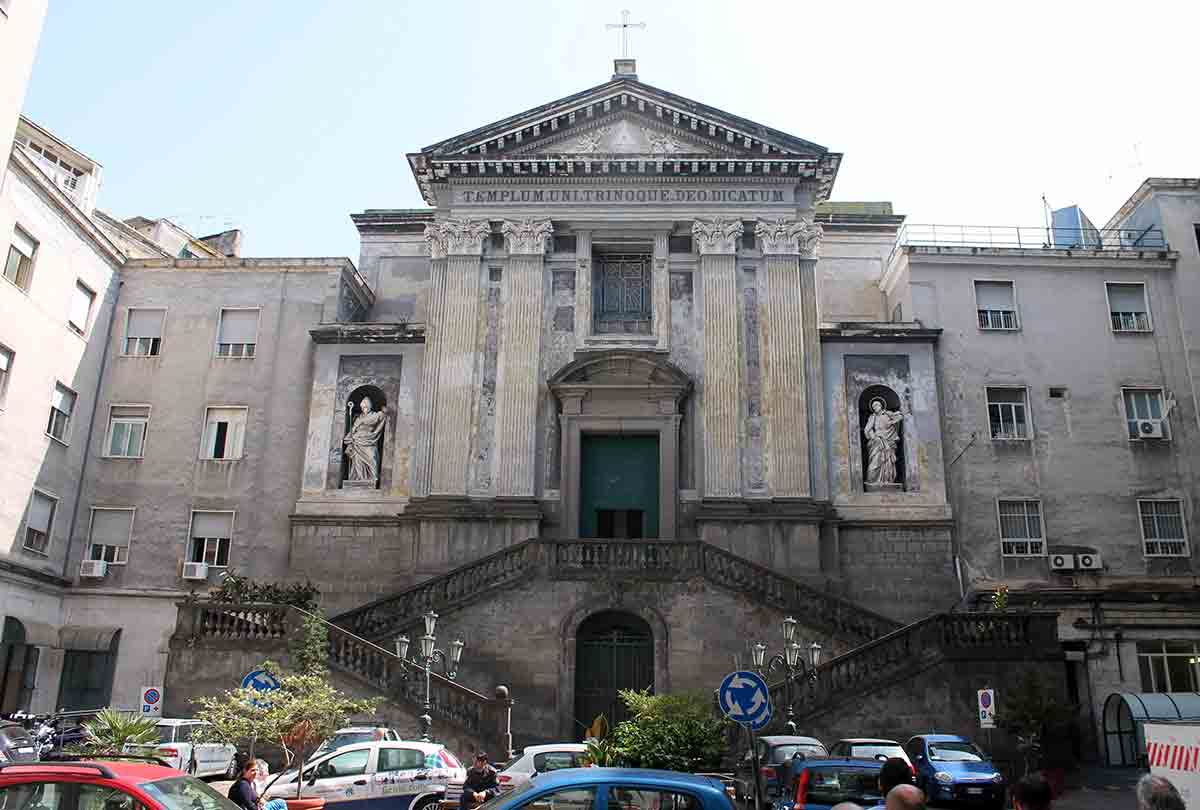 Chiesa dei Pellegrini Pignasecca Napoli