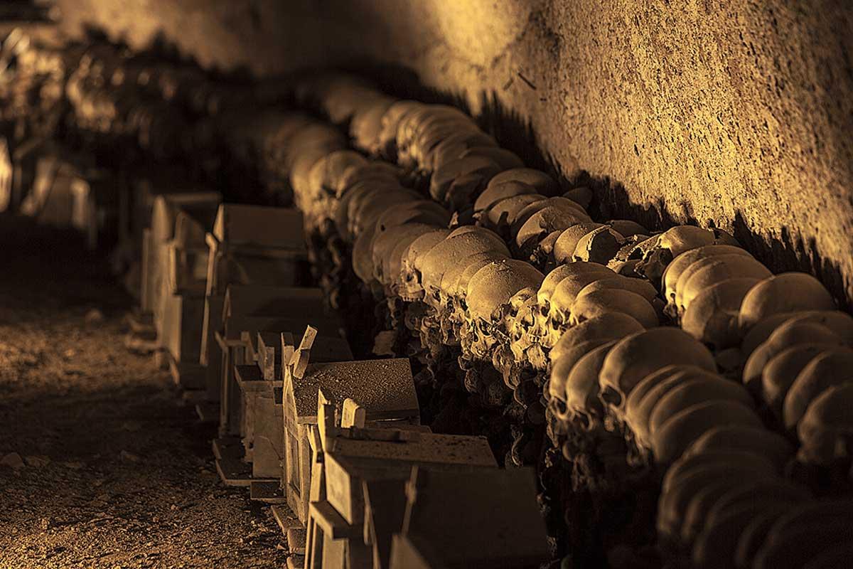 Cimitero delle Fontanelle Rione Sanità