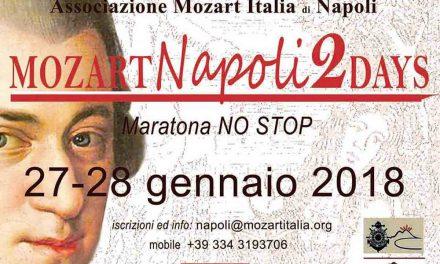 Mozart 2 Days a Napoli al Circolo Ufficiali della Marina MIlitare (gennaio 2018)