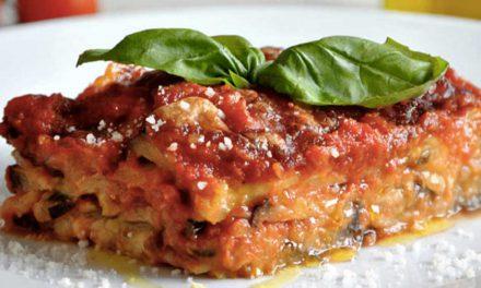 Parmigiana di melanzane alla napoletana