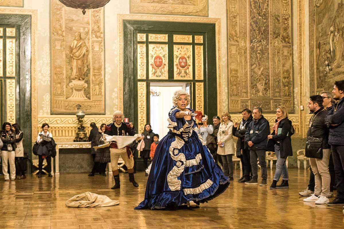 Ballo a Corte, Palazzo Reale di Napoli