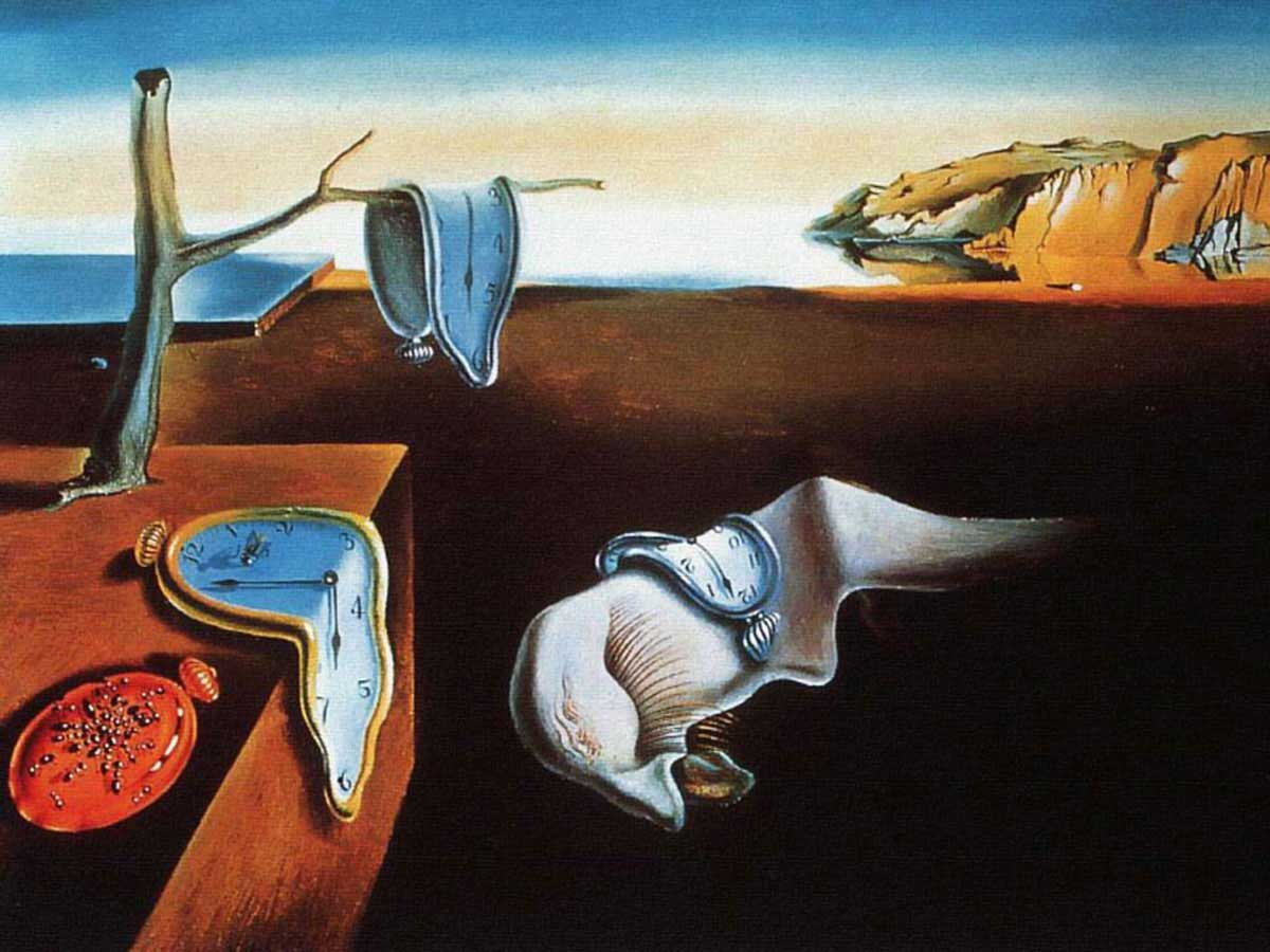 Persistenza della memoria, Salvador Dalì