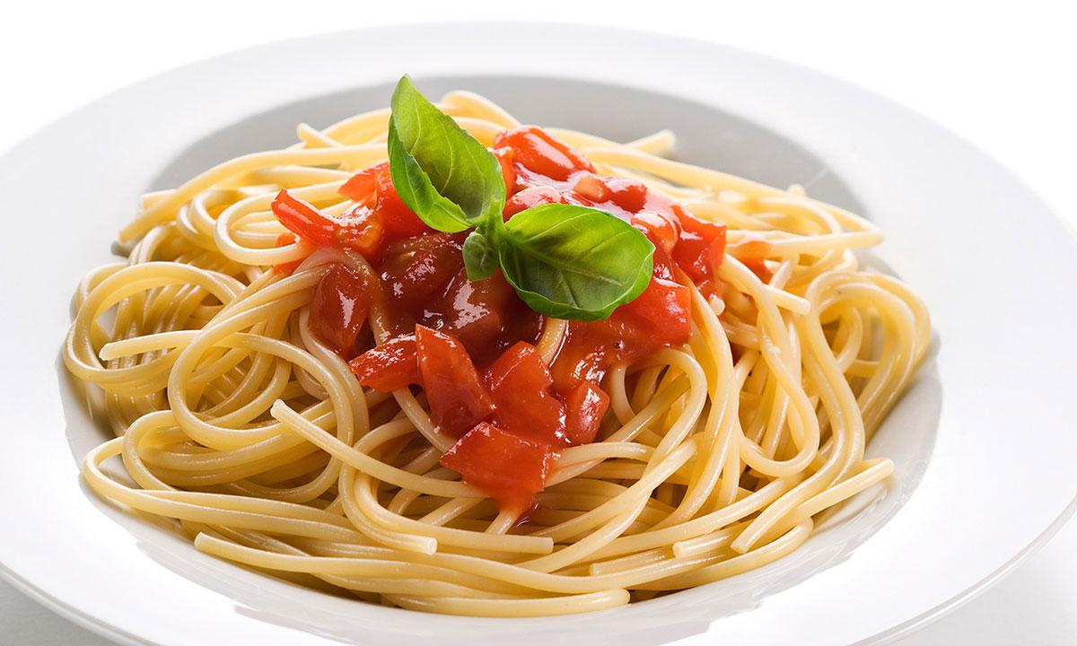 Spaghetti al Pomodoro del Piennolo
