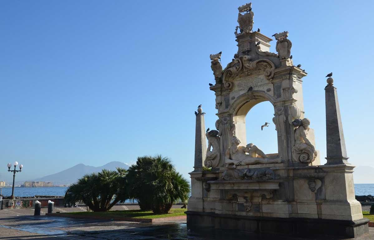 Napoli Fontana del Sebeto