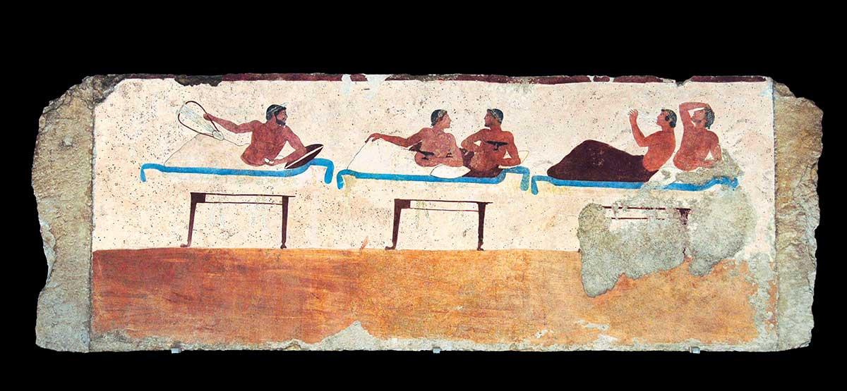 Paestum Tomba del tuffatore