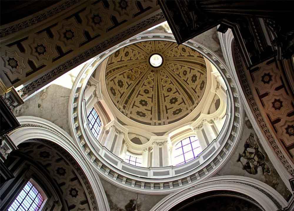 Basilica della Santissima Annunziata Maggiore Napoli Cupola