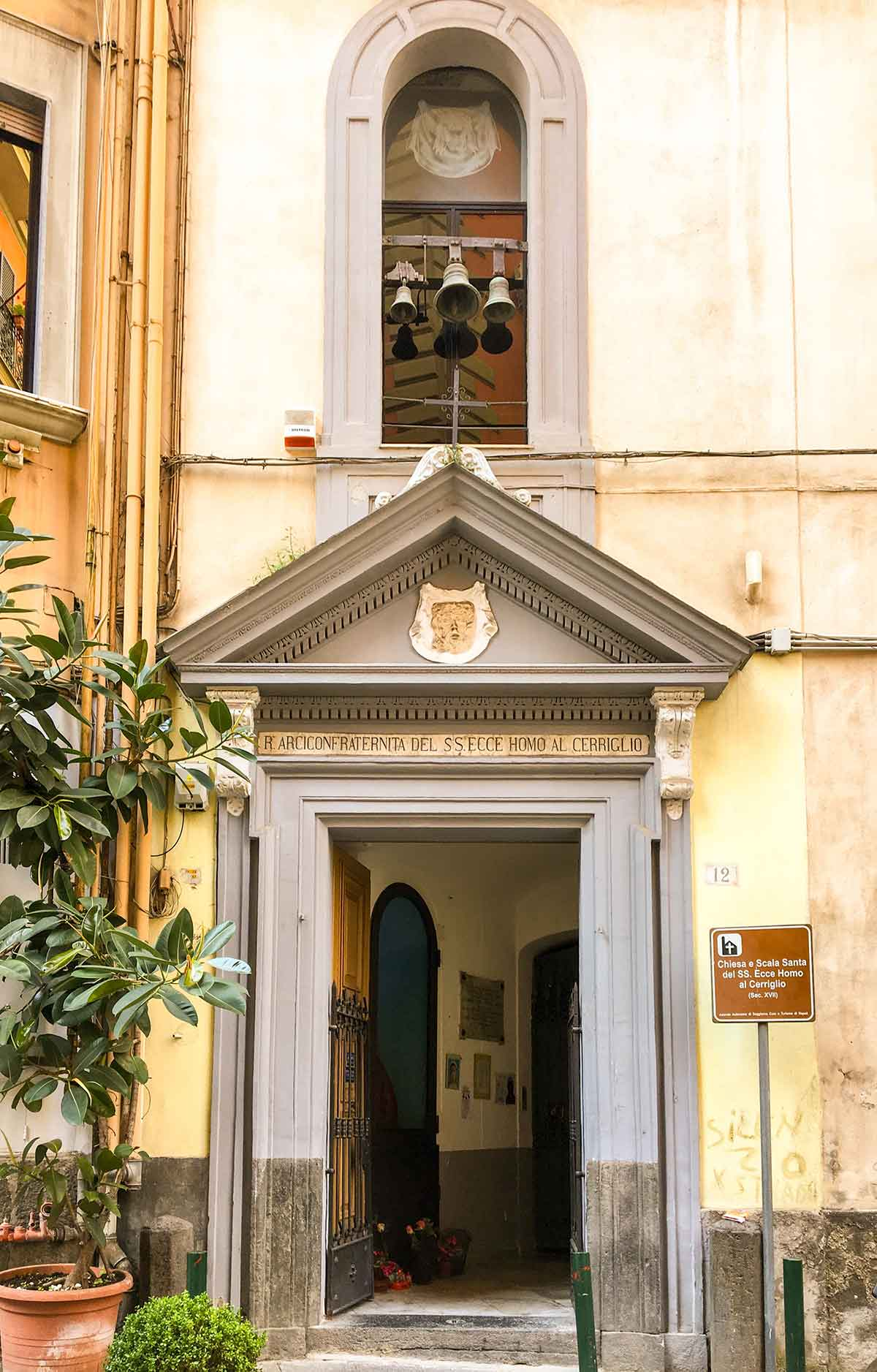 Ecce Homo al Cerriglio Scala santa