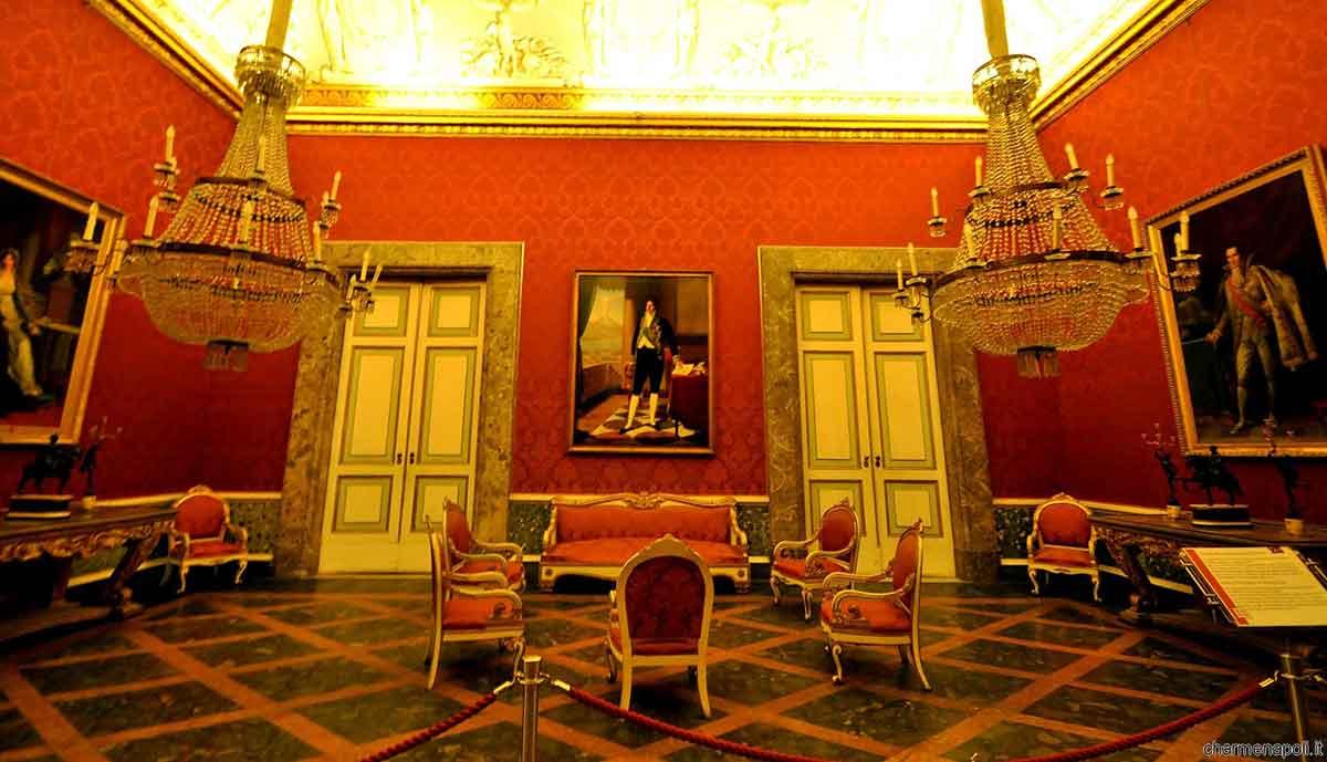 Aperture serali della Reggia di Caserta, Appartamenti storici